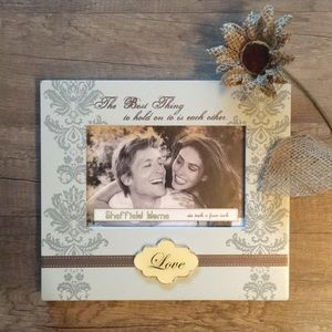 Other - ⚡️New Item In! NEW Adorable 6x4 Love Picture Frame